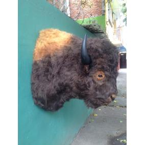 Animales Disecados 100% Artificiales ( Bisonte )