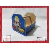 Caja Personalizada Madera 8x10cm2 Souvenirs Bob Constructor