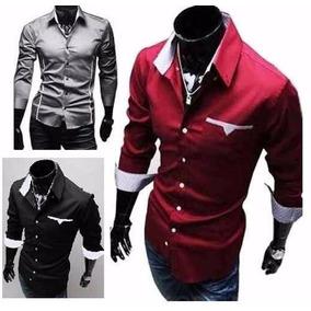 Camisa Social Slim Fit Importada Pronta Entrega