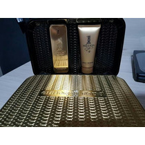 Kit Perfume One Million Masculino 100ml + Gel De Banho Edt 1