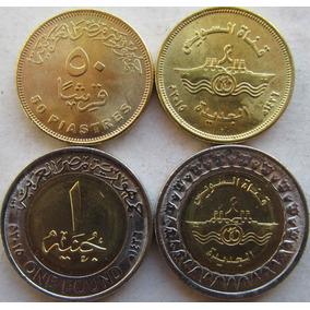 Egipto 1 Libra Y 50 Piastras 2015 Canal Suez - Nuevas !!!! -