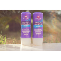 Kit 2 Mascara Aussie Creme 3 Minute Miracle Moist 236ml