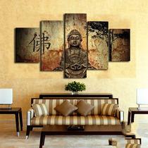 Nuevo! Juego Cuadros Decorativos Buda Listos Para Colgar