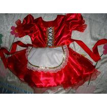 Fantasia Infantil Chapeuzinho Vermelho