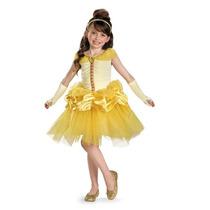 Disfraz Talla 3 A 4 Años Bella Prestigio Lujo Vestido Tutu