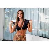 Blusa Suplex Malha Fitness Academia Cropped Clarabella