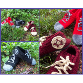Zapatillas Crochet Tejidas (pantuflas)