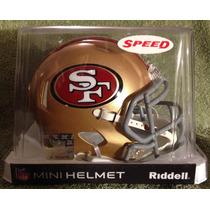 Nfl San Francisco 49ers Mini Casco Modelo Speed By Riddell