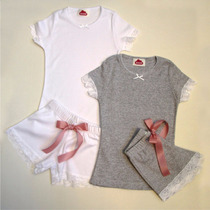 Promo Pijamas Y/o Camisones Algodon Y Encaje Solo Talle 4