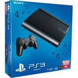 Ps3 Play 3 Super Slim 500 Gb Nueva+fifa17+40 Juegos Garantia