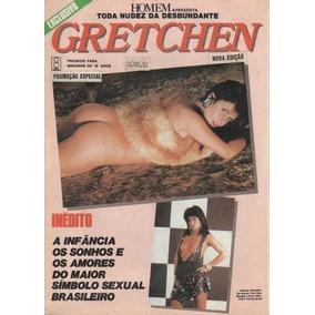 Revista Homem Apresenta Gretchen Sem Autor