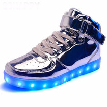 Tenis Led-luminosos Modelo Botin Unisex
