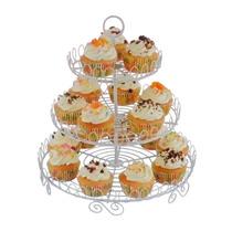 Exhibidor Metalico De 3 Niveles Para Cupcakes Oferta Loi