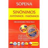 Diccionario Sinónimos Antónimos Parónimos, Sopena / Mallbits
