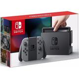 Nintendo Switch Con Controladores Joy-con Color Gris