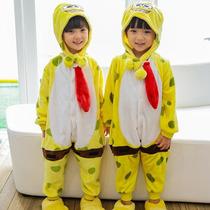 Pijama Bob Esponja E Kigurumi Infantil Sob Encomenda