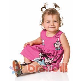 Vestido Infantil Minnie Disney Baby By Brandili