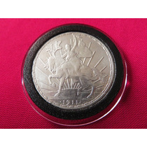 Moneda Un Peso Caballito 1911