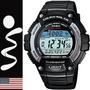 Reloj Casio Ws-220 Carreras Tough Solar Pila De Por Vida