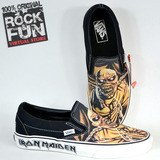 Vans Iron Maiden Peace Of Mind 100% Originales