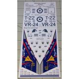 Calcas Mirage 40º Aniversario + Learjet 35a F.a.a.en 1/72