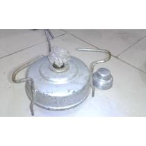 Antiguo Calentador A Alcohol O Kerosene Aluminio Bram-metal