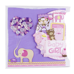 Album De Fotografia Scrapbook Safary Girl Gifts Blueberry