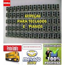 Borracha Teclado Korg Pa500 / Kit 5 Borrachas Novas Promoção