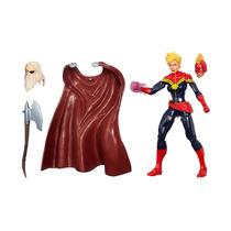 Boneca Marvel Capitan Marvel Infinite Séries 6 - Hasbro