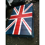 Mesa De Centro Bandera Inglesa De Palets Reciclado Tarimas