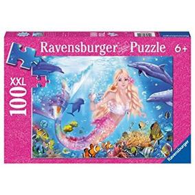 Juego Ravensburger Sirena Y Delfines Escarcha Puzzle (100 P