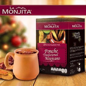Ponche X 2 En Polvo La Monjita 1.36klg Fruta 100% Naturales