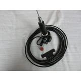 Soporte De Antena Rebatible+ Cable + Antena 5/8 Vhf