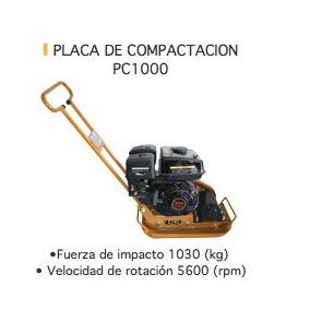 Placa Compactadora / Placa Vibratoria