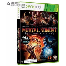 Game Mortal Kombat Komplete Edition - Xbox 360 - Warner Bros
