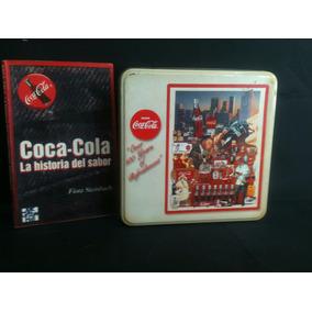 Coca Cola- Caja Lámina- Libro- Historia- Vintage