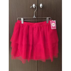 Falda Roja De Niña Circo Tipo Tutu