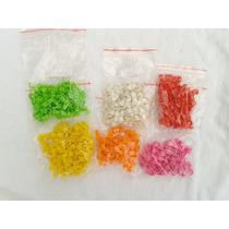 Anilhas Calopsita 5,5mm Colorida Fecho Click **frete Grátis