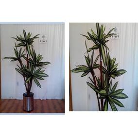 Yuca Artificial Decorativa Excelente Calidad Sin Maceta