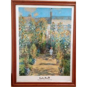 Cuadros Grandes C/marco Monet Renoir Van Gogh Kandinsky