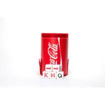 Cubilete De Coca - Cola Con Portadados, Dados Grabados En As