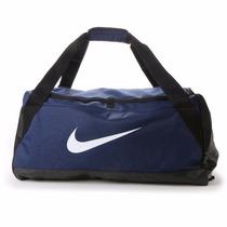 Bolsa Mala Nike Brasilia Duffel Medium Academia Viagem Azul