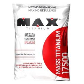 Mass Titanium 17500 - 3kg - Max Titanium - Refil - Morango