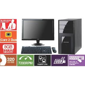 Computador Core 2 Duo 3.0 Ghz 8gb / Hd320 Dvd + Lcd 18.5 Pol