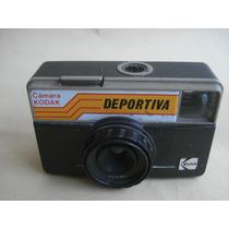 Camara Antigua Kodak Automatica Trabajando