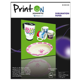 Printon Photo Paper Sublimacion 8.5 X11 100h Ptops100l