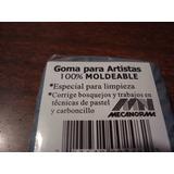 Goma Borrador Moldeable Profesional Carboncillo Y Pastel