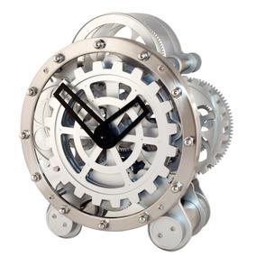 Kikkerland Reloj Escritorio Con Engranes Movimiento Vestir