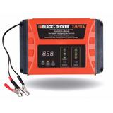 Cargador De Bateria Black Decker Bc12 12 Amp Inteligente Led