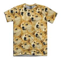Doge Camiseta Cachorro Dog Meme Personalizada